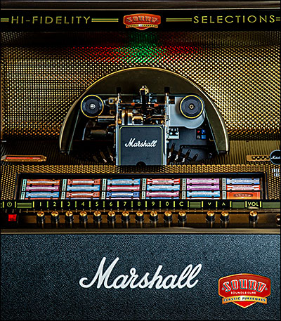 Marshall jukebox by Sound Leisure